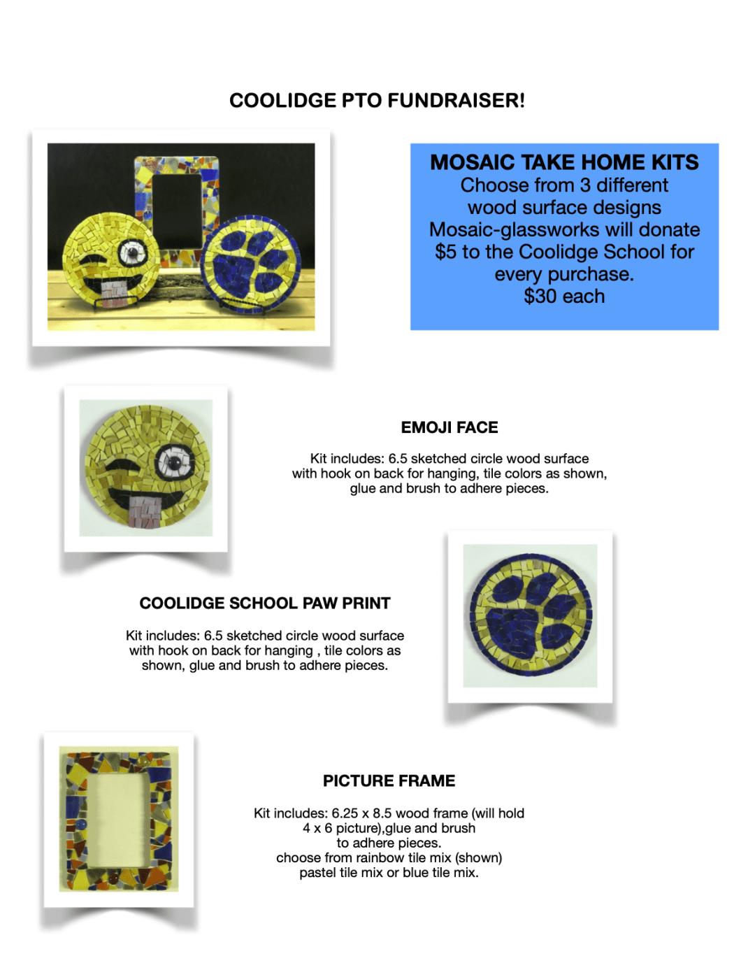 Mosaic Take HomKit Fundraiser